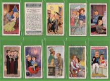 Cigarette cards movie film stars 1936  Chaplin, Temple